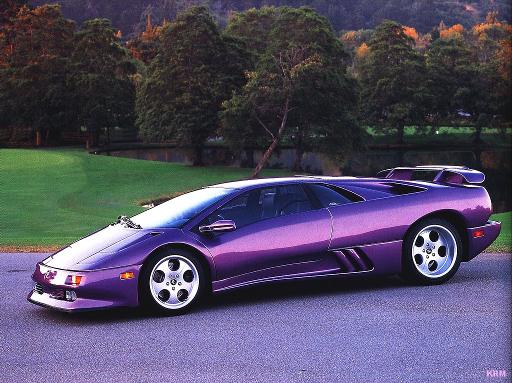 Sports Cars: Lamborghini Diablo Amazing Cars Wallpapers