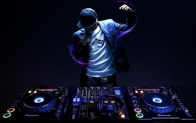 dj, musica, console, mixer, piatti, giradischi,