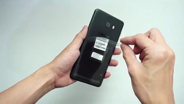 Kletek plastik bagian belakang Samsung C9 Pro