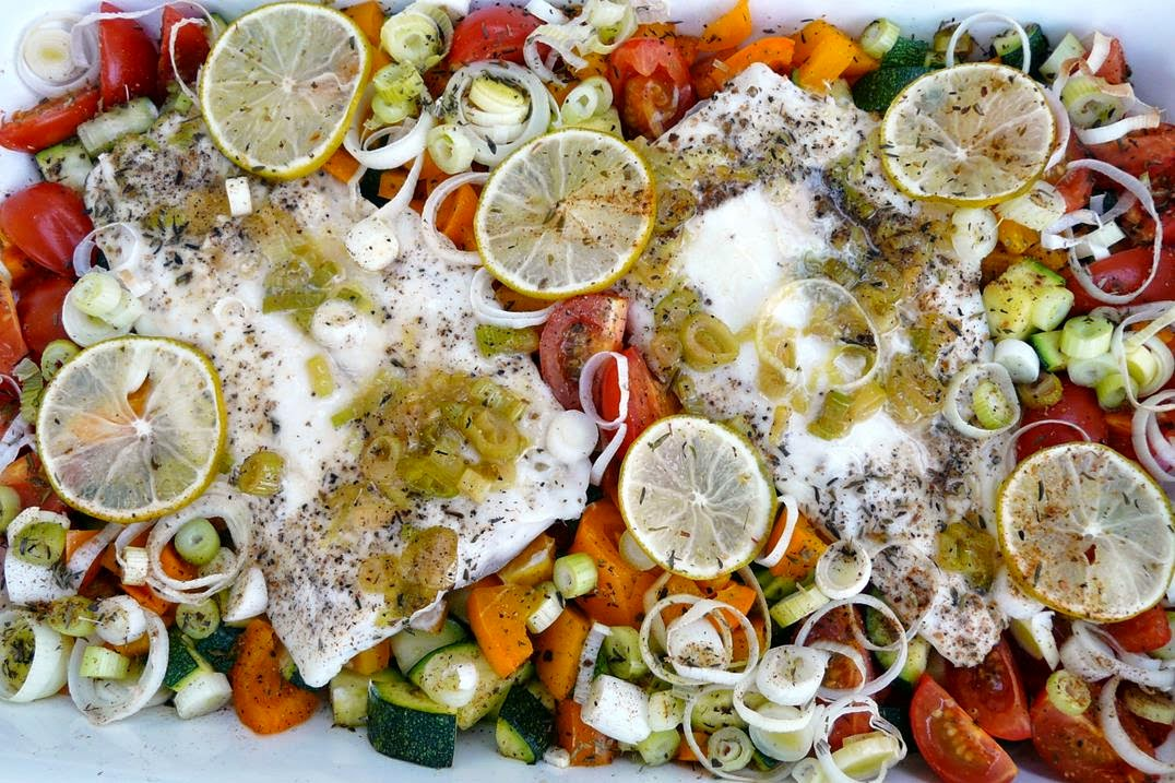 Kulinarische Welten zu Fisch und Meeresfrucht  ~ Backofen Fisch