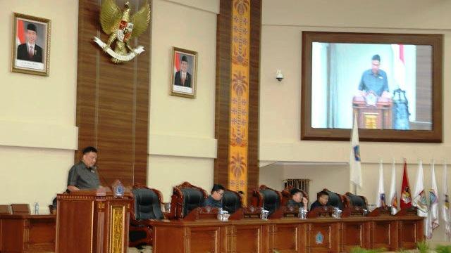 DPRD Sulut Gelar Rapat Paripurna Penyampaian LKPJ Gubernur TA 2017