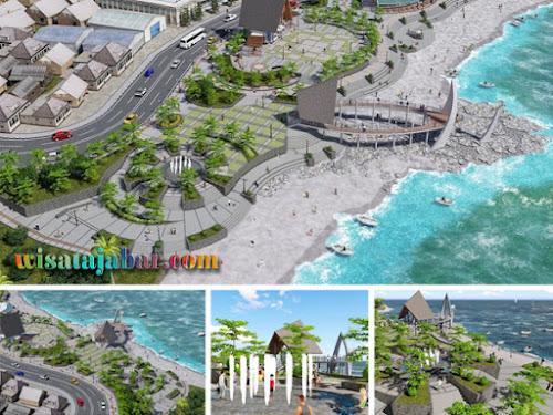 Wajah Baru Pantai Pelabuhan Ratu