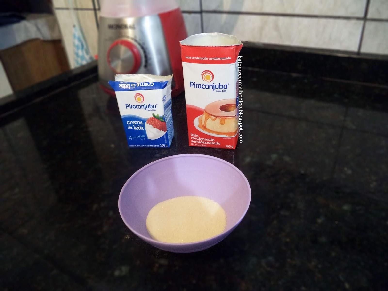 gelatina recheada simples passo a passo