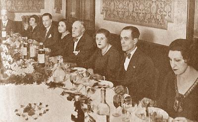 Cena-Homenaje a los fundadores de la revista técnica Els Escacs a Catalunya en 1932