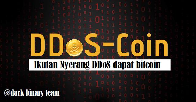 DDoSCoin - CryptoCurrency yang diberikan oleh Para Partisipan Penyerangan DDoS