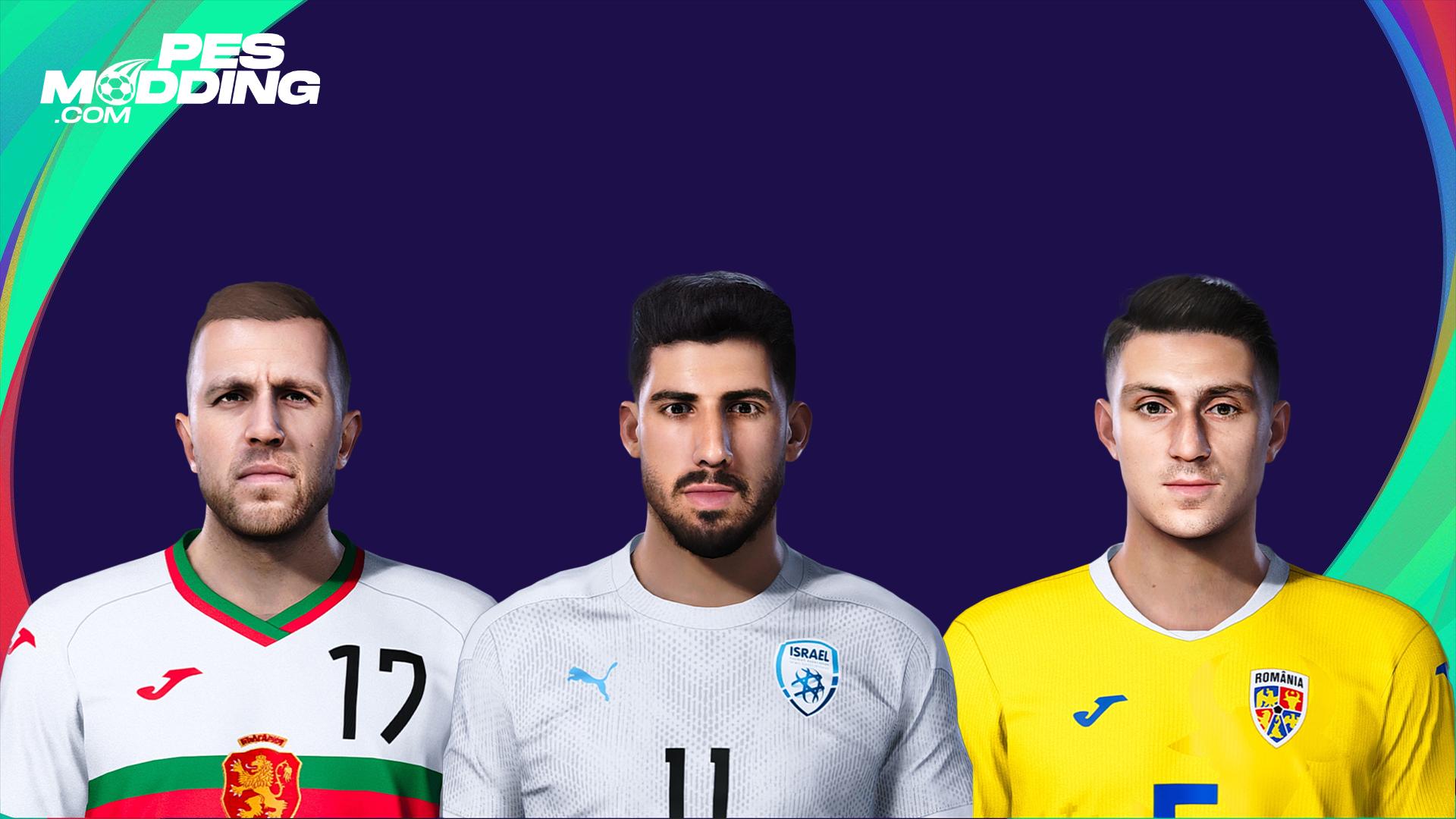 PES 2021 Faces - I. Nedelcearu + Y. Cohen + A. Iliev