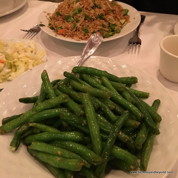 green beans at Cathay Palisades in Pacific Palisades, California