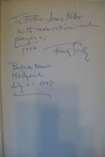 Rogues' Gallery by Frank Scully, signed for Father James Kelly