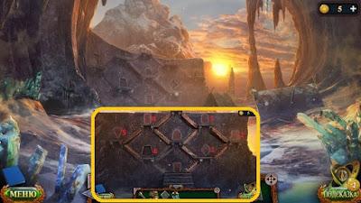 в стене первого рождения ставим все руны в игре затерянные земли 5