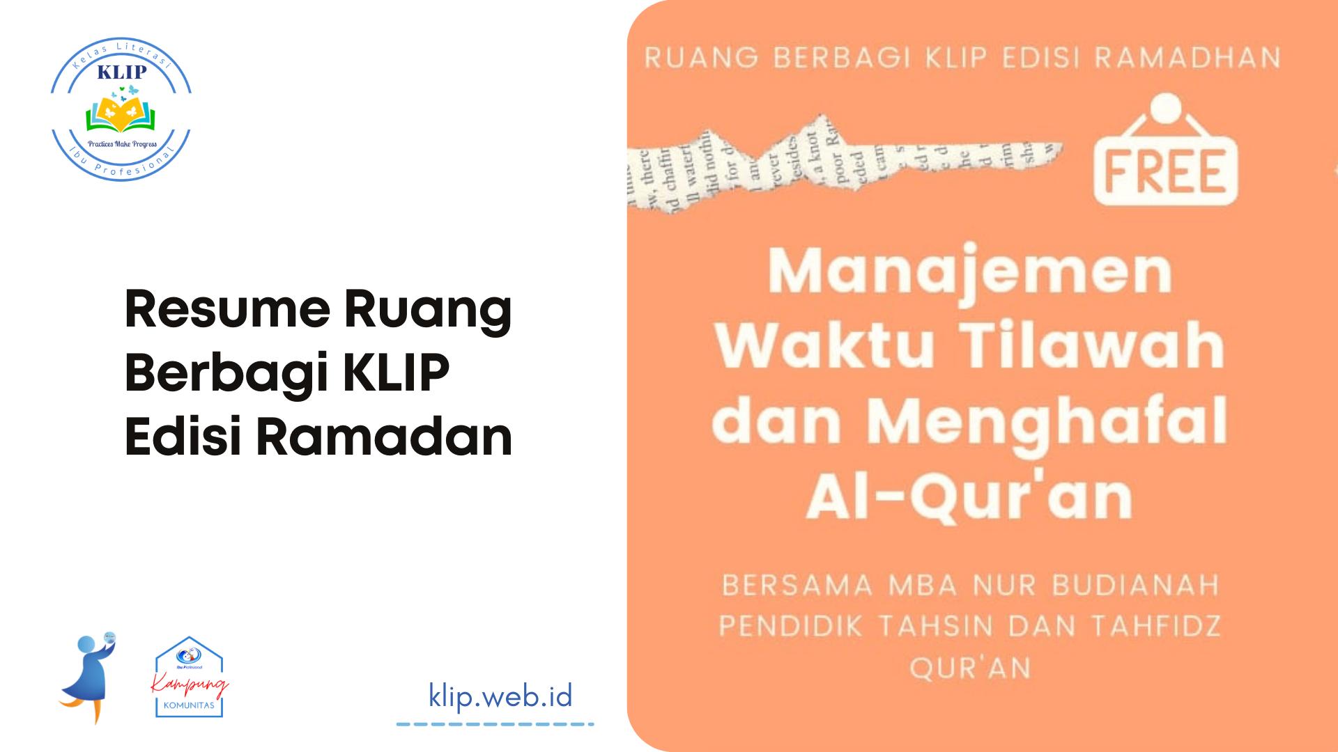 Tips Manajemen Waktu Membaca Dan Menghafal Al-qur'an