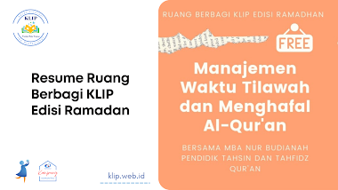 Manajemen Waktu Membaca Dan Menghafal Al-qur'an