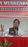 Musrembang Kecamatan Siatas Barita, Sekda: Pembagian Tugas Saling Mendukung