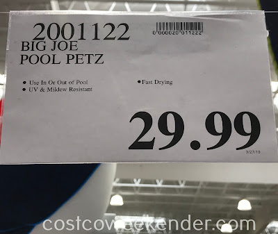 Deal Big Joe Pool Petz at Costco