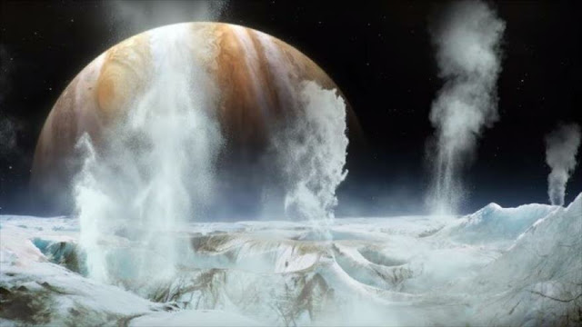 Hallazgo inédito de NASA: agua de vapor en un satélite de Júpiter