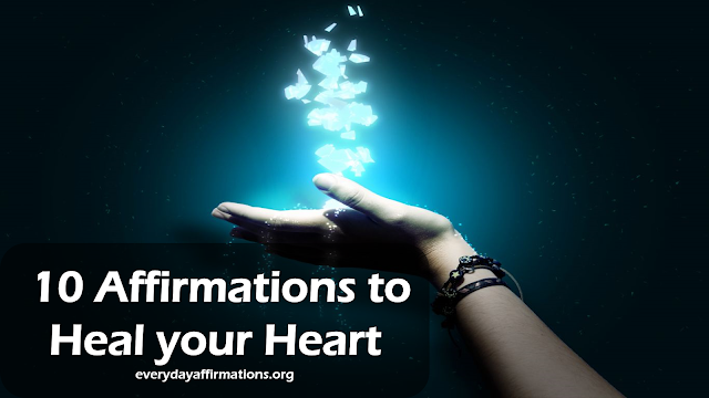 Affirmation Videos, 10 Affirmations to Heal your Heart Video