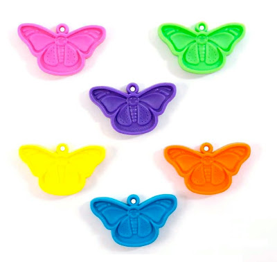 Happy Butterfly Weights are Balloon Accessories and Balloon Weights to tether Helium Filled Balloons