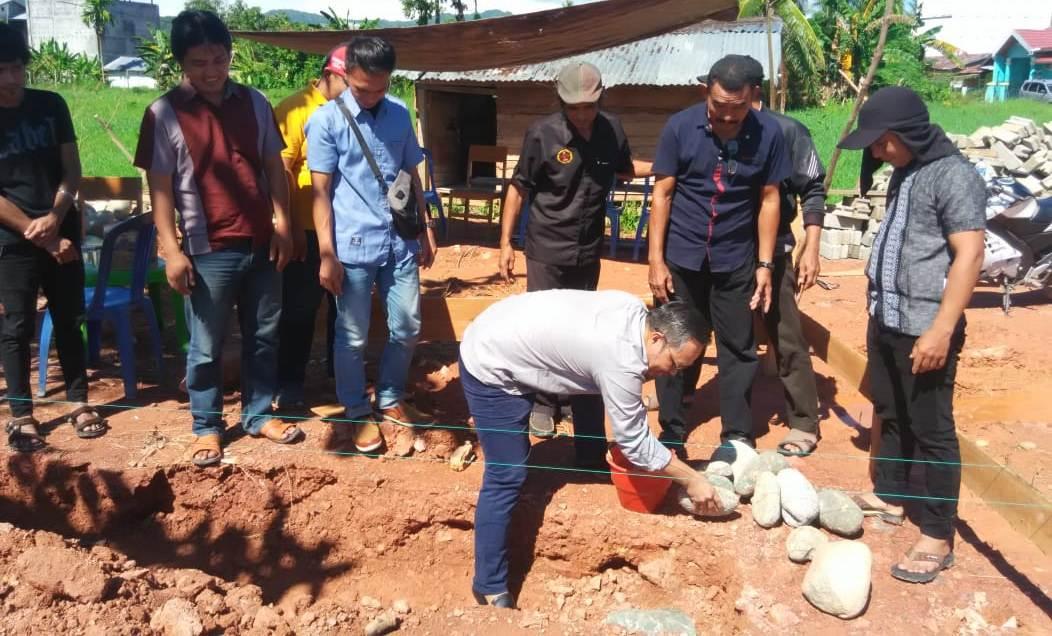 Peletakan Batu Pertama Pembangunan Kantor LBHP Tolitoli
