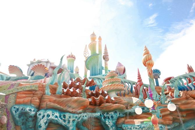 Image result for mermaid lagoon disneyland