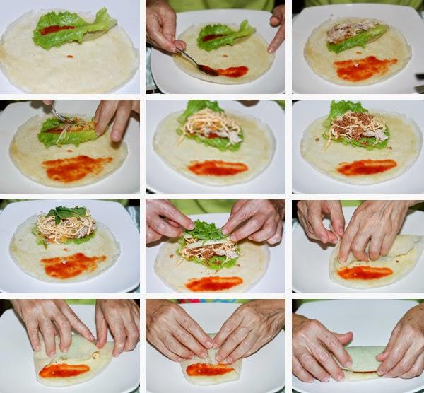 Vegetarian Spring Rolls Popiah Recipe
