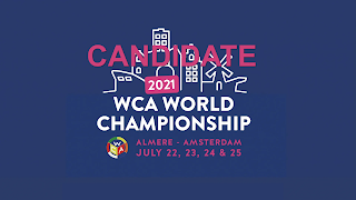 kandidat tuan rumah berbagai kejuaraan perlombaan resmi WCA World Cube Association 2021 2022