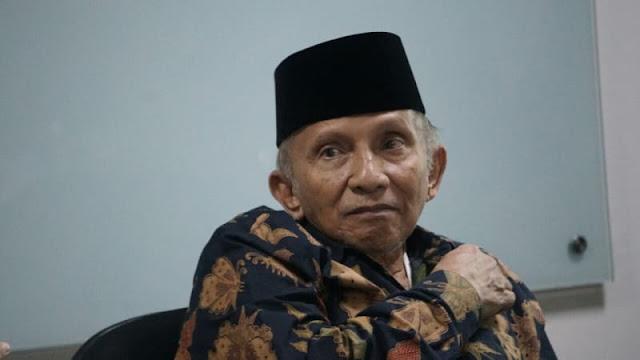 Amien Rais Kritik Demokrasi di Era Jokowi: Lawan Politik Dipecah