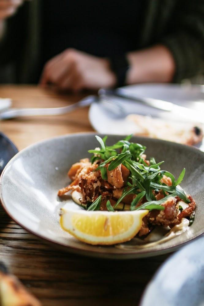 Salt & Pepper Calamari at Acre Eatery