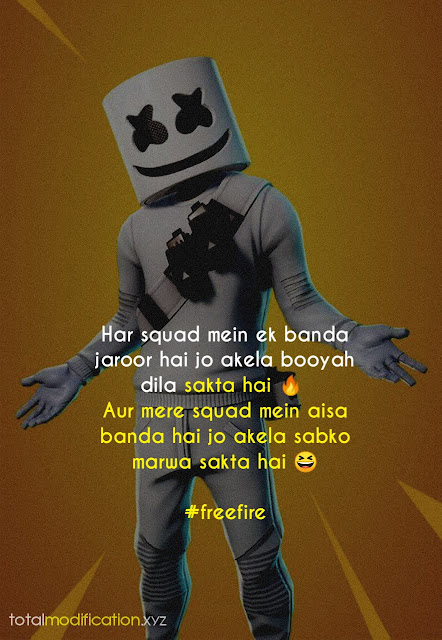 20+ Freefire shayari, status, quotes with pics | freefire 2021