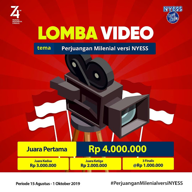 Lomba Video Nyess Lovers 2019 Untuk Umum