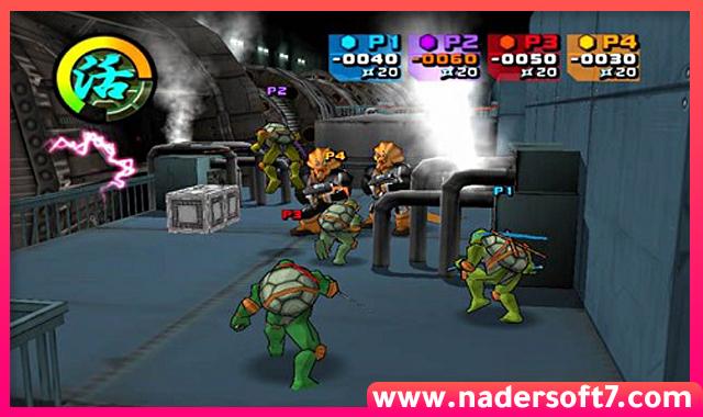 تحميل لعبة سلاحف النينجا 2 Ninja Turtles الاصلية للكمبيوتر من ميديا فاير