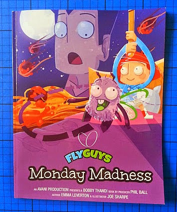 Fly Guys Monday Madness a children's book about prejudice review