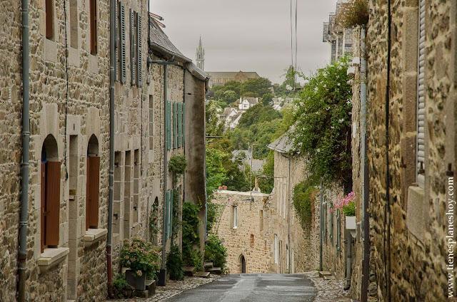 Treguier viaje Bretaña francesa diario