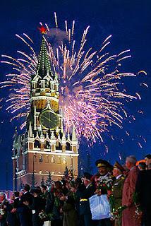 Perayaan Kemerdekaan di Rusia