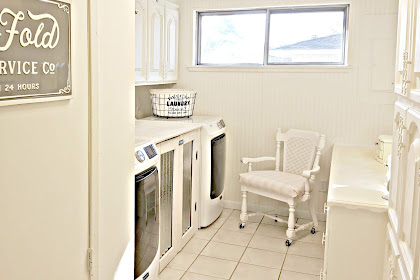 We've Made more Progress on the Utility Room Makeover