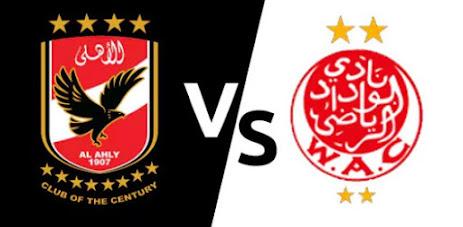 مشاهدة مباراة الأهلي والوداد مجانا اليوم بث مباشر 23-10-2020