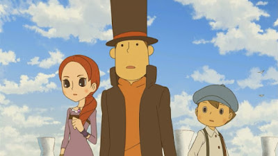Anunciada la adaptación anime de Profesor Layton