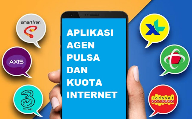 Aplikasi Agen Kuota Paket Data dan Pulsa Murah di Android