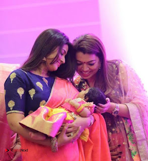 Rahul Actress Sridevi Vijaykumar Baby Rupikaa Naming Ceremony Pictures 0005