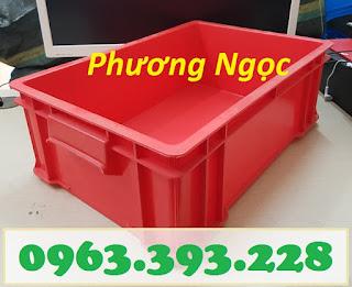 Thùng nhựa đặc công nghiệp, thùng nhựa đặc B4 có nắp, khay nhựa đựng ốc vít, hộp nhựa công nghiệp