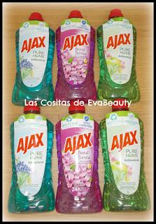 Limpiador universal Ajax en Notino #Ajax #Notino #limpiezahogar #productoslimpieza #casa #home #limpiadoruniversal