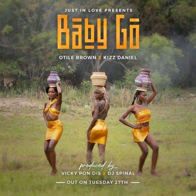 AUDIO | Otile Brown Ft. Kizz Daniel - Baby Go | Download New song