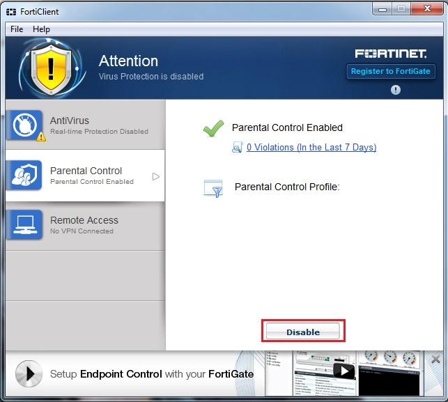 Forticlient Remote Access Ubuntu