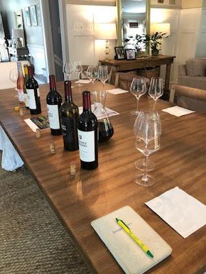 Rodney Strong Wine Estates note taking