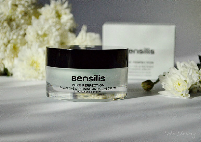 Sensilis Krem Pure Perfecton zapobiegający starzeniu się skóry przywracający równowagę i oczyszczenie.