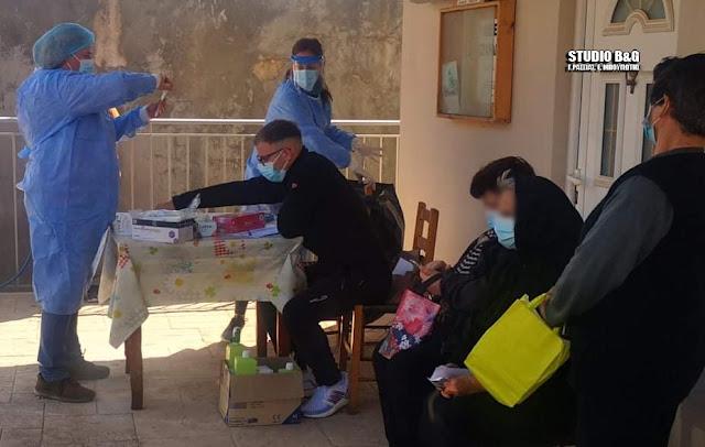 Κορωνοϊός Αργολίδα: Τι έδειξαν τα rapid test στο Αραχναίο