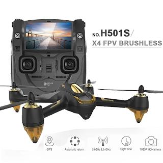 Spesifikasi Drone Hubsan H501S dan H501SS - OmahDrones