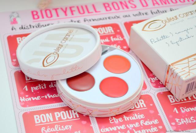Beauté - soin - cosmétiques - box beauté - box bio - box bien être - maquillage - couleur caramel - rouges à lèvres