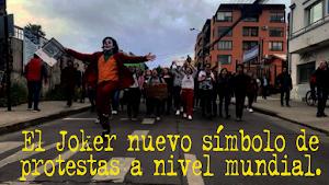 El Joker nuevo símbolo de protestas a nivel mundial