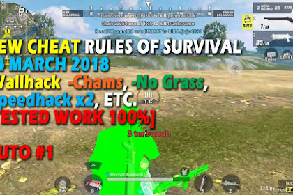 [After Maintenance] Cheat Rules of Survival Leusin 9.0 Update 14 maret 2018 !