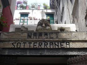 ingresso a Napoli sotterranea